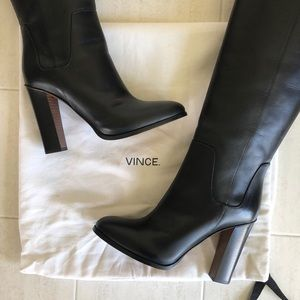 Never Worn Vince Dempsey Leather Boots